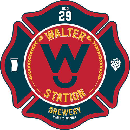 Walter Station Brewery Patch Logo